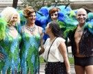 So bunt war der Umzug der 23. Wiener Regenbogenparade 2018