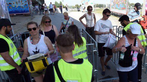 Sicherheit am Donauinselfest: Diese Gegenstände sind verboten